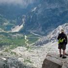 15-Na vrhu Krna: pogled proti Krnskem jezeru