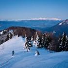 3-Zgodnje jutro nad Kriško goro, v ozadju Julijske Alpe