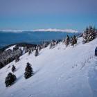 4-Zgodnje jutro nad Kriško goro, v ozadju Julijske Alpe