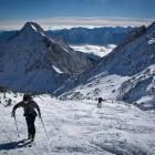 16-Vzpenjanje proti vrhu Velikega Draškega vrha