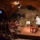 41-Different social events in the arched cellar, Muzikafe Ptuj
