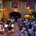 39-Summer atmosphere on the outside terrace, Muzikafe Ptuj