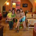 37-Wonderful owners: Stanka and Igor with their kids