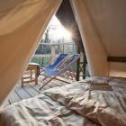 29-Glamping Garden Village Bled, šotor na pomolu, foto: Jošt Gantar