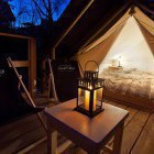 28-Glamping Garden Village Bled, šotor na pomolu, foto: Jošt Gantar