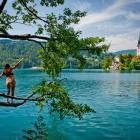 31-Slovenia, Julian Alps, self-guided biking tour