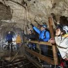 15-S kolesom po podzemlju Pece, Mežica