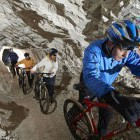 20-S kolesom po podzemlju Pece, Mežica