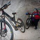 12-S kolesom po podzemlju Pece, Mežica