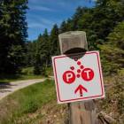 8-Rogla - Slap Šumik - Črno jezero, kolesarske oznake